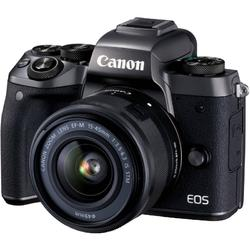 Canon Aparat foto mirrorless EOS M5 KIT EF-M 15-45 IS STM