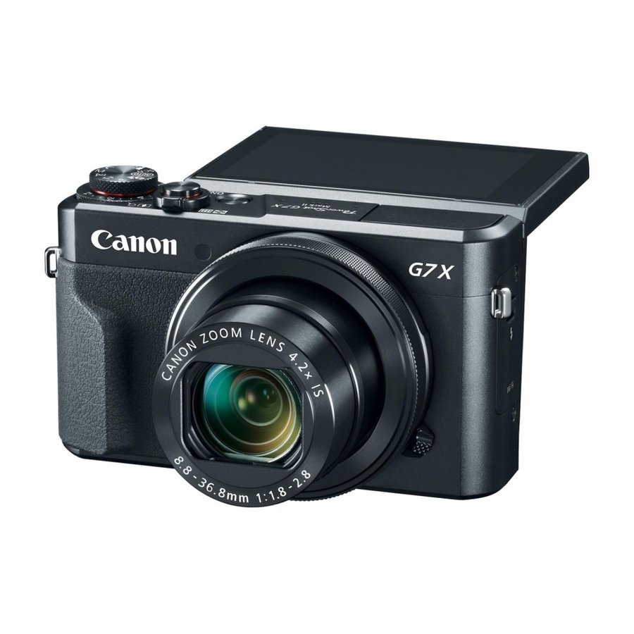 Aparat Foto Powershot G7x Mark Ii, 20.1mpx, Sensor Cmos, Zoom Optic 4.2x, Zoom Digital 4x, Stabilizare Optica, Wi-fi