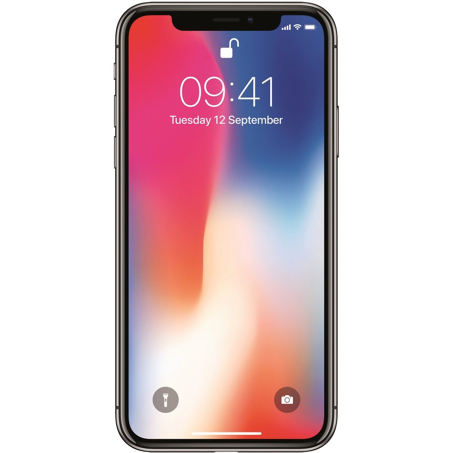 Telefon mobil iPhone X, 256GB, 4G, Space Grey