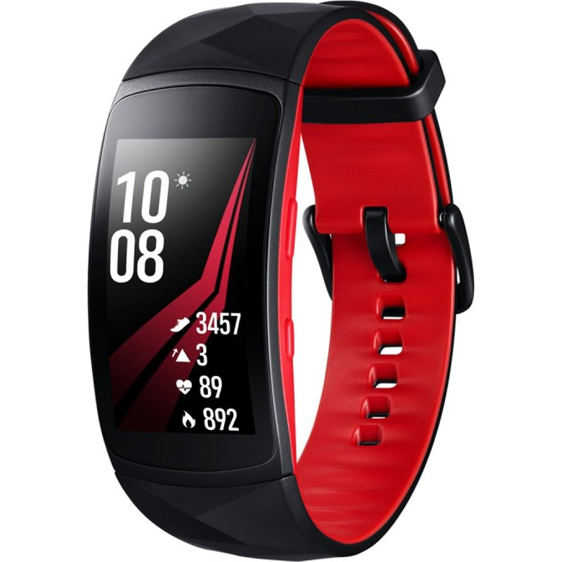 Bratara Fitness Samsung Gear Fit 2 Pro, Small, Rosu