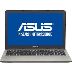 Laptop ASUS 15.6'' X541NA, HD,  Intel Celeron Dual Core N3350 , 4GB, 500GB, GMA HD 500, Endless OS, Chocolate Black, no ODD