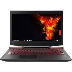 Laptop Lenovo Gaming 15.6'' Legion Y720, FHD IPS,  Intel Core i7-7700HQ,  16GB DDR4, 2TB + 256GB SSD, GeForce GTX 1060 6GB, FreeDos, Black, RGB Backlit, External ODD