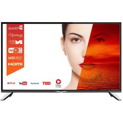Resigilat Televizor LED Horizon 49HL7510U, Smart TV, 123 cm, 4K Ultra HD, CI+, negru/argintiu