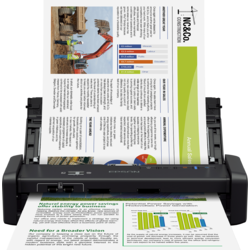 Scanner Epson WorkForce DS-360W, format A4, portabil, wireless