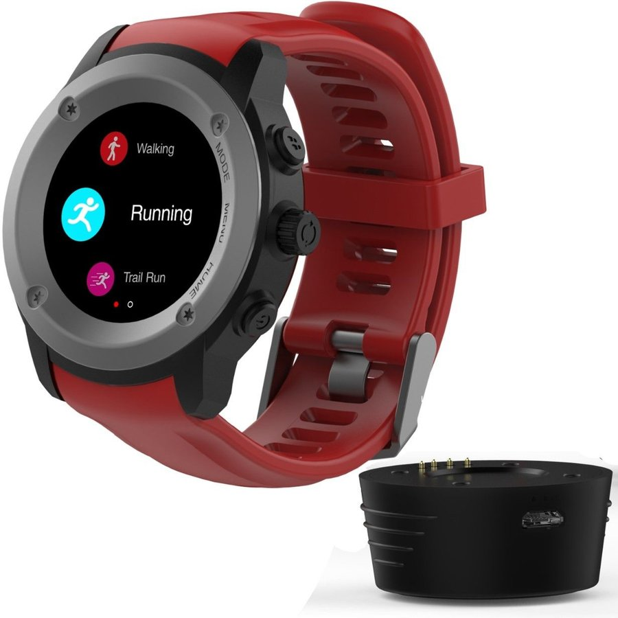 Smartwatch MaxCom FitGo FW17 Power, GPS, Red