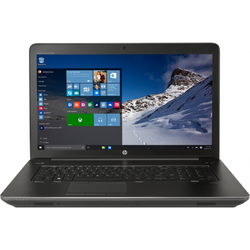 Laptop HP 17.3'' ZBook 17 G3, FHD, Procesor Intel Core i7-6700HQ, 16GB DDR4, 2x 1TB 7200 RPM + 256GB SSD, Quadro M2000 4GB, FingerPrint Reader, Win 7 Pro + Win 10 Pro