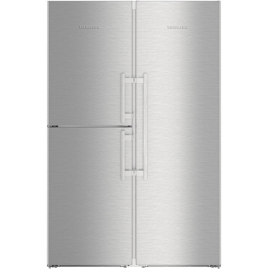 Side by side No Frost SBSes 8473, BioFresh, DuoCooling, IceMaker, 688 l, clasa A+++, inox