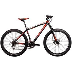 "Good Bike Bicicleta MTB Desert 27.5"" Plus, Black/Red, 49cm, L"
