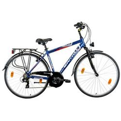 "Good Bike Bicicleta City 28"" Carratt Life Confort, Blue, 48cm/M"