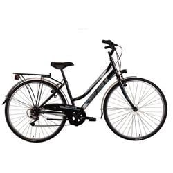 "Good Bike Bicicleta City 28"" Universal, Black, 44cm/S"