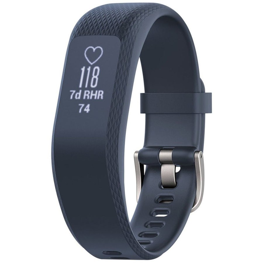 Bratara Fitness Garmin Vivosmart 3, Blue, Small