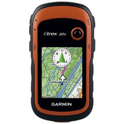"GPS montan Garmin eTrex® 20x, display color 2.2"" -  harta de baza a lumii cu relief umbrit"