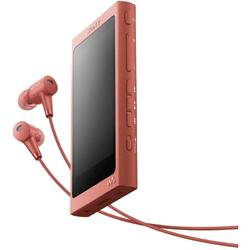 MP4 Player Sony Walkman NW-A45HNR, Casti, High Resolution Audio, Ecran tactil, Bluetooth, NFC, Wireless, 16GB, Rosu