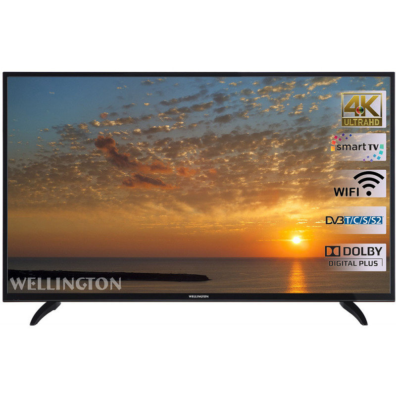 Televizor LED Smart Wellington, 140 cm, 55UHDV296SW, 4K Ultra HD