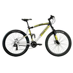 "Good Bike Bicicleta MTB 27.5"" Zeppelin 21V, Black/Yellow, 48cm/M"
