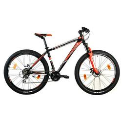 "Good Bike Bicicleta MTB 27.5"" Plus Desert 21V, Black/Red, 46cm/S-M"