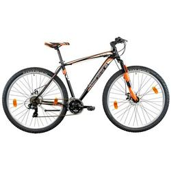 Good Bike Bicicleta MTB 29-er Alaska, Black/Orange, 46cm/S-M