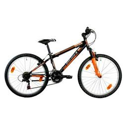 "Good Bike Bicicleta MTB 24"" Smile, pentru copii, Black/Orange"