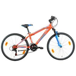 "Good Bike Bicicleta MTB 24"" Smile, pentru copii, Red/Blue"