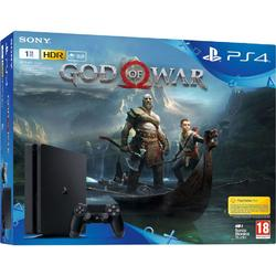 Consola Sony PlayStation 4 1TB God of War Black + Joc God of War 4