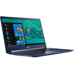 "Ultrabook Acer Swift SF514-52T-54KJ, Procesor Intel Core i5-8250U, 14"" FHD, Touch, 8GB, 256GB SSD, UHD Graphics 620, FPR, Win10 Home, Albastru"