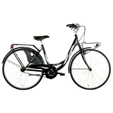 "Good Bike Bicicleta City 26"" Siviglia, Monoframe, Black/Silver"