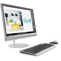 Sistem All-In-One Lenovo 21.5'' IdeaCentre 520, FHD Touch, Procesor Intel Core i5-8250U 1.6GHz Kaby Lake R, 4GB, 1TB, GMA UHD 620, FreeDos