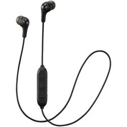 Casti in ear JVC HA-FX9BT-BE, Gummy, Bluetooth, Negru