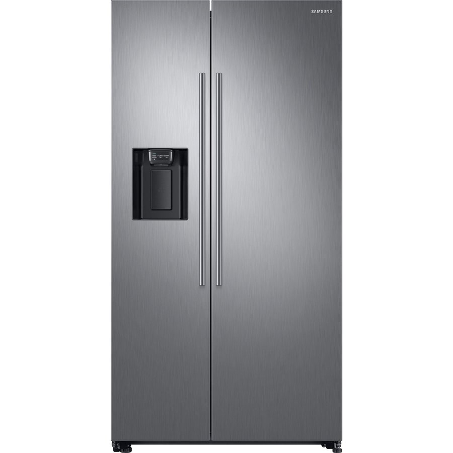 Side by side Samsung RS67N8210S9/EF, 609l, full No Frost, Twin Cooling, compresor digital Invertor, display, dispenser, H 178 cm, clasa A+, inox