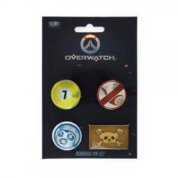 Gaya Entertainment OVERWATCH ROADHOG PIN SET