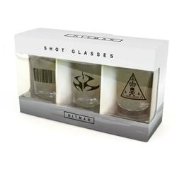 Gaya Entertainment HITMAN SHOTGLASSES SET