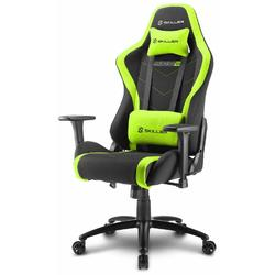 Scaun Gaming Sharkoon Skiller SGS2, Black/Green