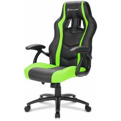 Scaun Gaming Sharkoon Skiller SGS1, Black/Green