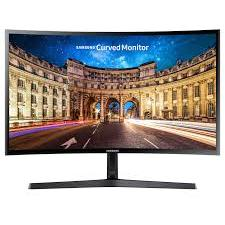 Monitor LED Samsung Gaming LC24F396FHUXEN Curbat 23.5 inch 1 ms Black FreeSync