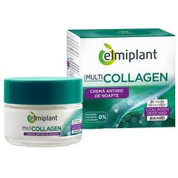 Crema de noapte Elmiplant Multicollagen, 50 ml