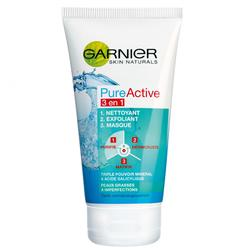 Gel de curatare Garnier Pure Active 3in1, 150 ml