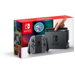 NINTENDO SWITCH CONSOLE & MARIO TENNIS ACES & NBA 2K18