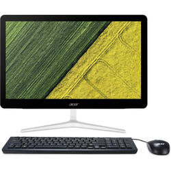 "Sistem All-in-One Acer Z24-880 cu procesor Intel Corei3-7100T 3.40 GHz, Kaby Lake, 23.8"", 4GB, 1TB, Intel HD Graphics 630, Microsoft Windows 10"