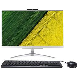 "Acer Sistem PC All-In-One Aspire C22-860 cu procesor Intel Core i3-7130U 2.70 GHz, Kaby Lake, 21.5"", Full HD, 4GB, 1TB, Intel HD Graphics 620, Free DOS, Mouse + Tastatura, Silver"