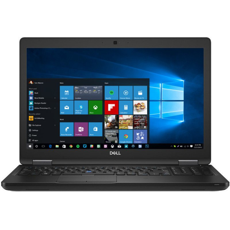 Laptop Latitude 5591 (seria 5000),15.6'' FHD, Procesor Intel Core i5-8400H (8M Cache, up to 4.20 GHz), 8GB DDR4, 256GB SSD, GMA UHD 630, FingerPrint Reader, Win 10 Pro, Black, 3Yr