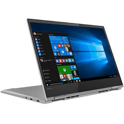 "Lenovo Laptop 2 in 1 YOGA 730-13IKB cu procesor Intel® Core™ i5-8250U pana la 3.40 GHz, Kaby Lake R, 13.3"", Full HD, IPS, Touch, 8GB, 256GB SSD, Intel® UHD Graphics 620, Microsoft Windows 10, Platinum"