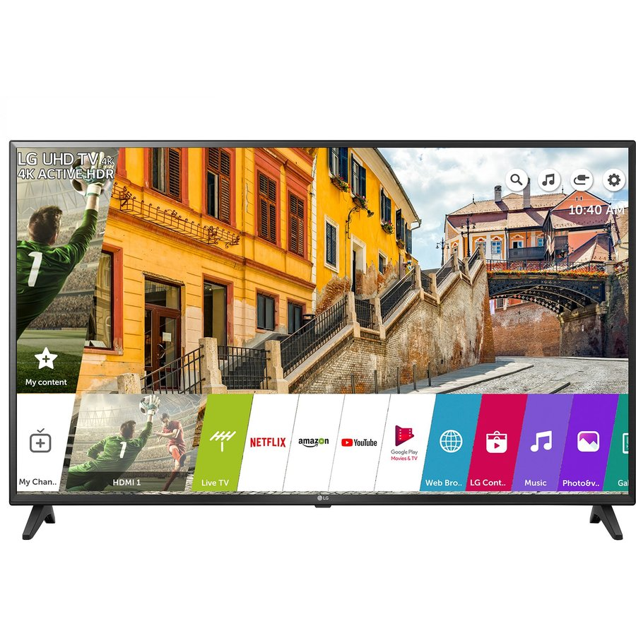 Televizor Led Lg Smart, 108 Cm, 43uk6200pla, 4k Ultra Hd