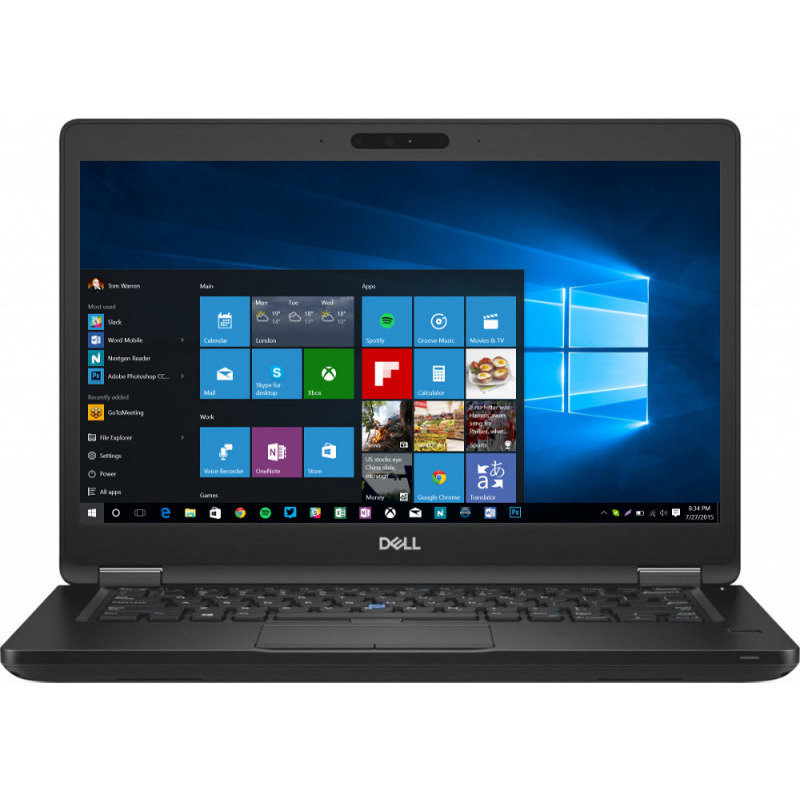 Laptop Latitude 5490 Intel Core Kaby Lake R (8th Gen) i5-8350U 512GB SSD 8GB FullHD