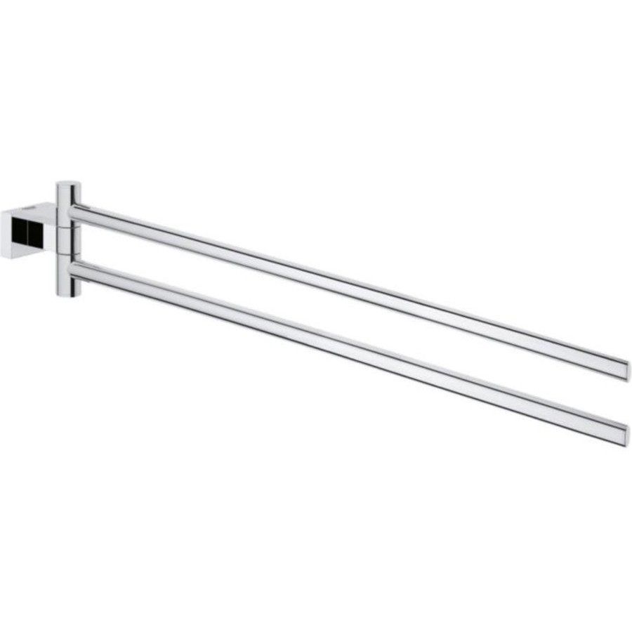 Suport prosop doua brate Grohe Essentials Cube, 439 mm, crom, 40624001