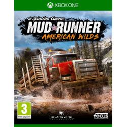 SPINTIRES MUDRUNNER AMERICAN WILDS EDITION - XBOX ONE