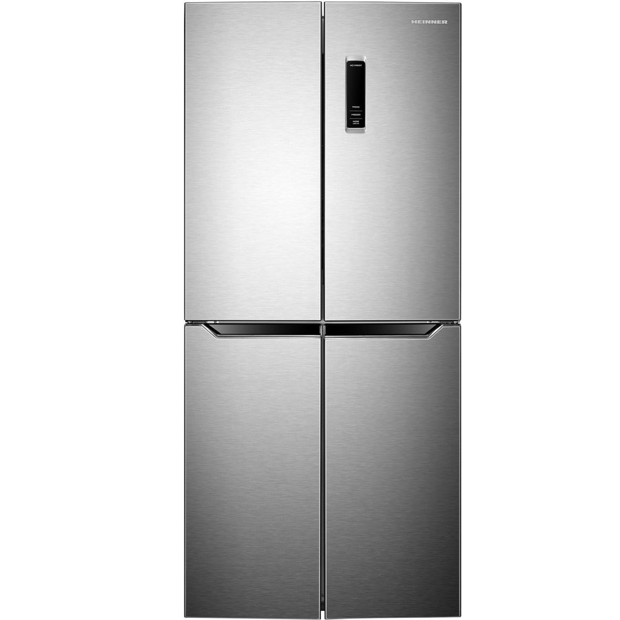 Side by Side Heinner HSBS-H401MNFX+, 401 l, Clasa A+, Full No Frost, Display Touch, LED, Control Electronic, H 180 cm, Inox