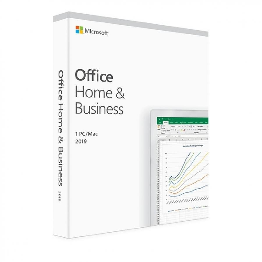 Licenta retail Microsoft Office 2019 Home and Business 32-bit/x64 Romana