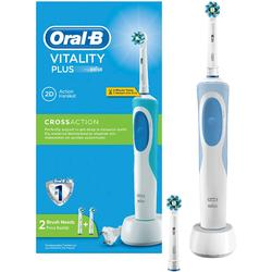 Braun Periuta de dinti electrica Oral-B D12.513 Vitality CrossAction Box, 1 program, 7600 oscilatii/min, alb
