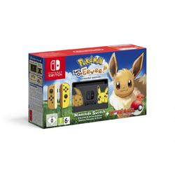 NINTENDO SWITCH CONSOLE & POKEMON LETS GO EEVEE BUNDLE - GDG