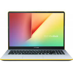 Ultrabook ASUS 15.6'' VivoBook S15 S530UA, FHD, Procesor Intel® Core™ i5-8250U (6M Cache, up to 3.40 GHz), 8GB DDR4, 256GB SSD, GMA UHD 620, Endless OS, Silver Blue with Yellow Trim